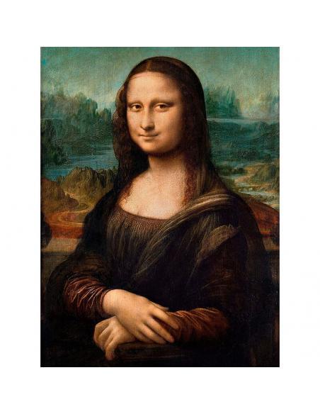 Puzzle Mona Lisa Leonardo Museo Louvre 1000pzs - Imagen 2