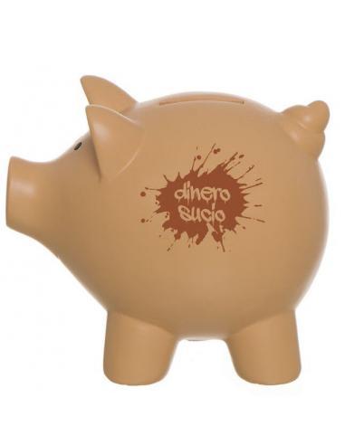 Hucha cerdo M Dinero Sucio (6 - 12) - Imagen 1