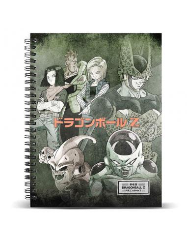 Cuaderno A4 Evil Dragon Ball - Imagen 1