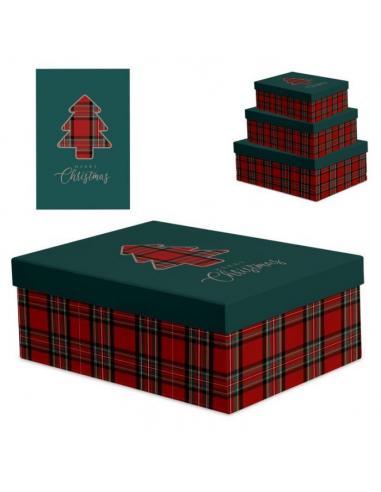 Juego 3 cajas Navidad (2/4) - Imagen 1