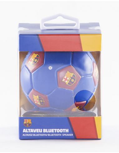 Altavoz portatil en forma de balon de FC Barcelona - Imagen 1