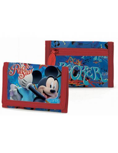 Cartera con velcro Live tour de Mickey Mouse - Imagen 1