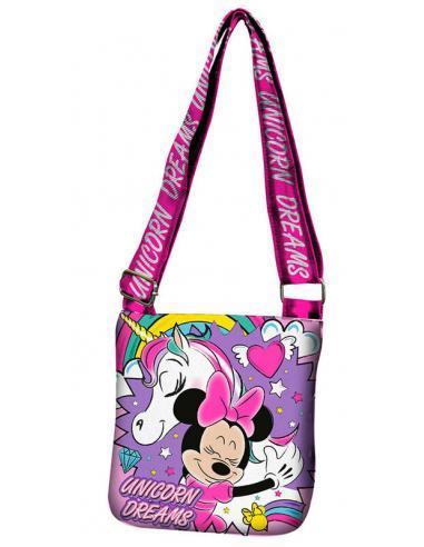 Bolsa bandolera Believe in Unicorn de Minnie Mouse - Imagen 1