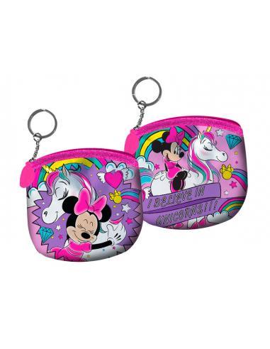 Monedero con llavero Believe in Unicorn de Minnie Mouse - Imagen 1