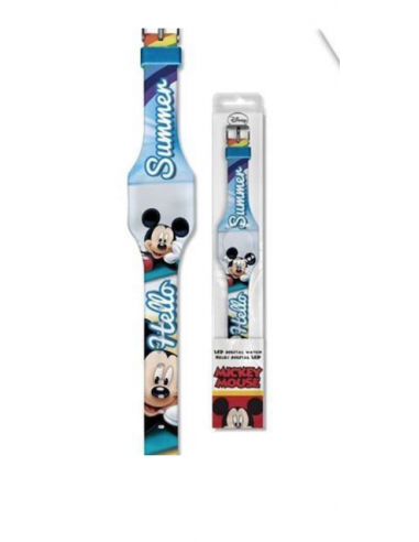 Reloj digital flat led de Mickey Mouse