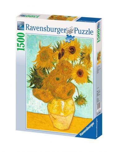 Ravensburger, puzzle adultos 1500 piezas 'Van Gogh: Los Girasoles' (1/1) - Imagen 1