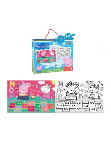 Puzzle 48 piezas de Peppa Pig - Imagen 1