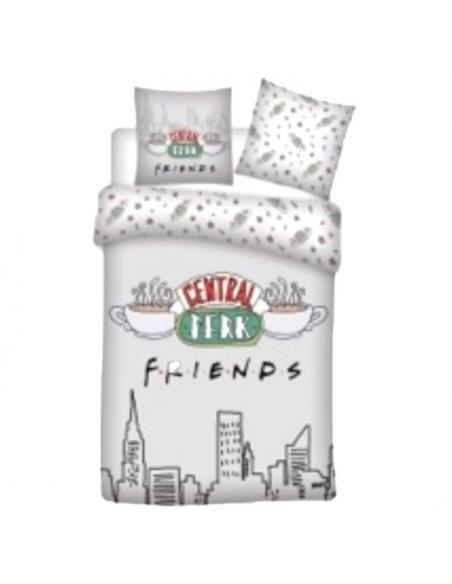 Funda nordica Central Perk Friends algodon cama 135cm - Imagen 1
