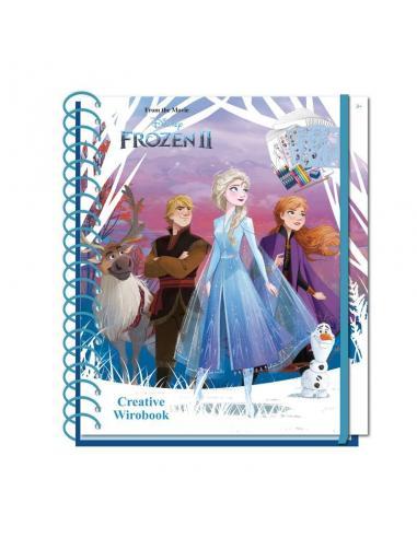 Cuaderno Creativo de Frozen - Imagen 1