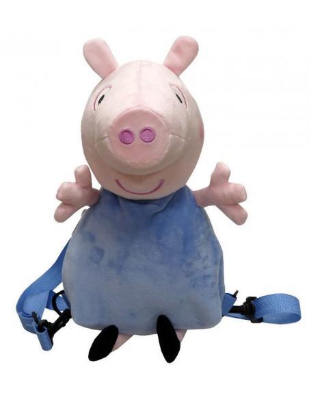 Mochila peluche 3D de George - Peppa Pig - Imagen 1