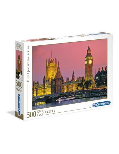 Clementoni Puzzle 500 piezas Londres - Imagen 1