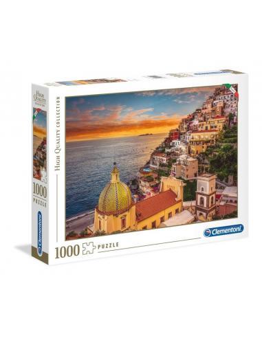 Clementoni Puzzle 1000 piezas Positano - Imagen 1