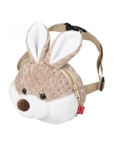 Bolso riñonera peluche con conejo Bunny - Imagen 1