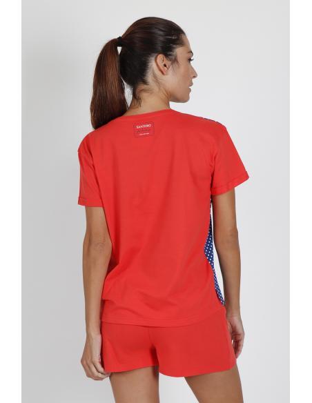 PIJAMA M/CORTA LADY IN RED - Imagen 3