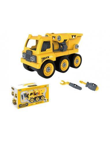 Camión construcción con fricción - Imagen 1