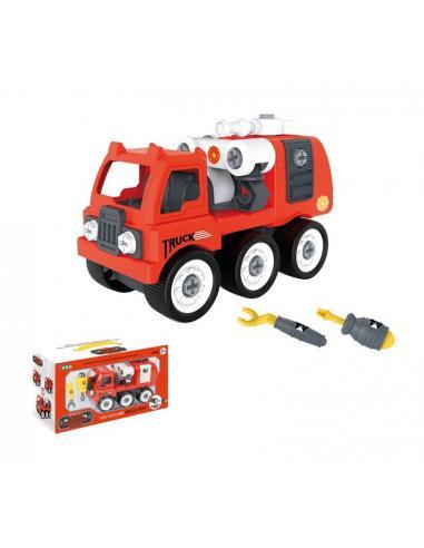 Camión bombero con fricción - Imagen 1
