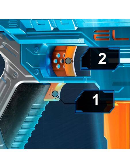 Lanzador Turbine Cs-18 Elite 2.0 Nerf - Imagen 3