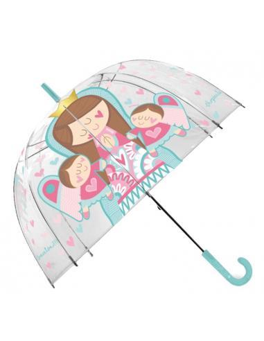 Paraguas automatico 46cm de Virgencitas (st60) - Imagen 1