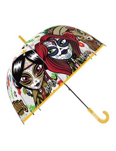Paraguas automatico 46cm de Catrinas (st60) - Imagen 1