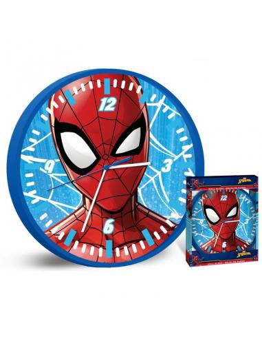 Reloj pared 25cm de Spiderman (st12) - Imagen 1