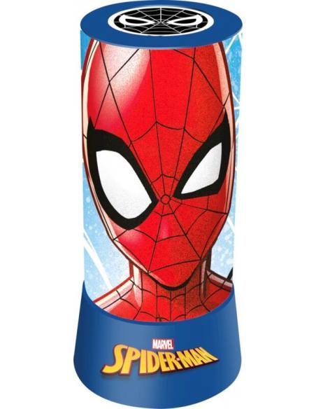 Proyector Led Cilindrico Spiderman (st24) - Imagen 1