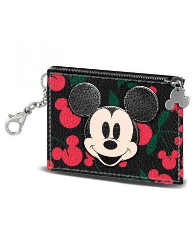 Tarjetero Mickey Cherry Disney - Imagen 1