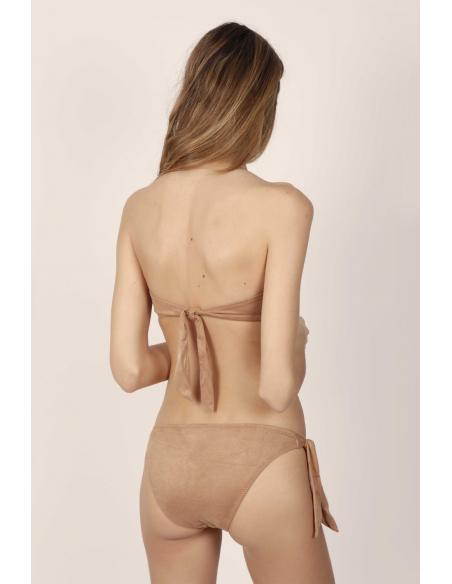 ADMAS Bikini Bandeau Push Up Sand Desert para Mujer - Imagen 2