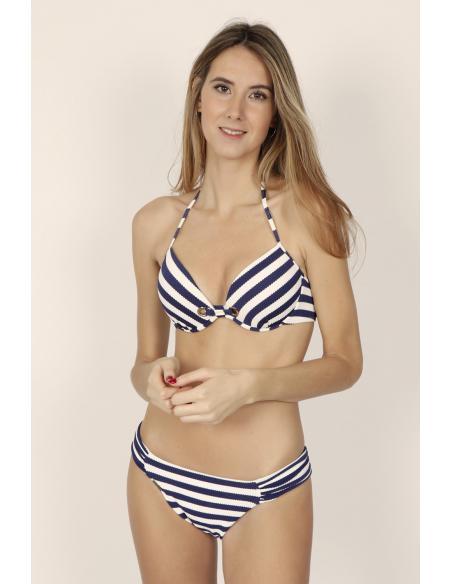 ADMAS Bikini Push Up Sailor para Mujer - Imagen 1