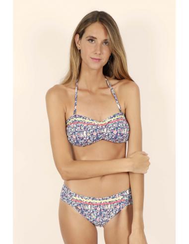 ADMAS Bikini Bandeau Liberty para Mujer - Imagen 1