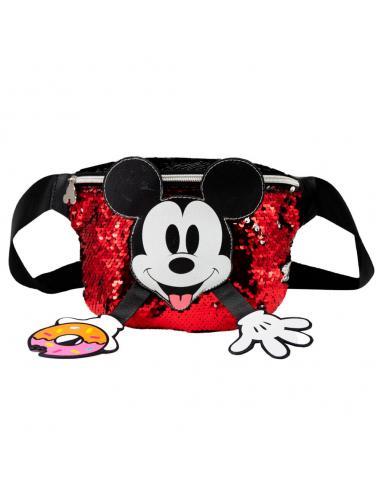 Riñonera Donut Mickey Disney lentejuelas - Imagen 1
