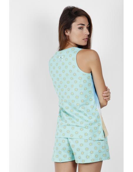 SANTORO Pijama Tirantes Hello Summer para Mujer - Imagen 3