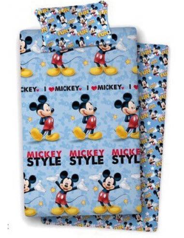 Juego sabanas para cama 105cm de Mickey Mouse - Imagen 1