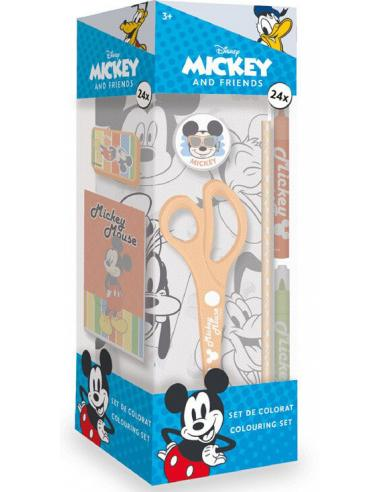 Caja actividades 24 piezas de Mickey Mouse - Imagen 1