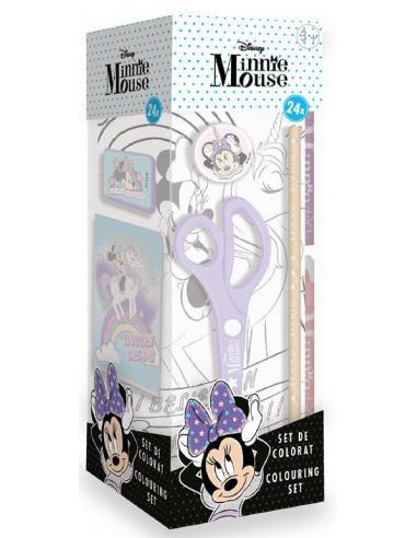 Caja actividades 24 piezas de Minnie Mouse - Imagen 1