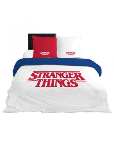 Funda nordica Stranger Things algodon cama 135cm - Imagen 1
