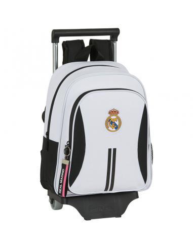 Mochila 34cm con carro extraible de Real Madrid '1ª Equip. 20/21' - Imagen 1