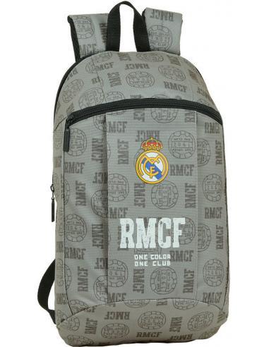 Mini mochila 39cm de Real Madrid 'Grey' - Imagen 1