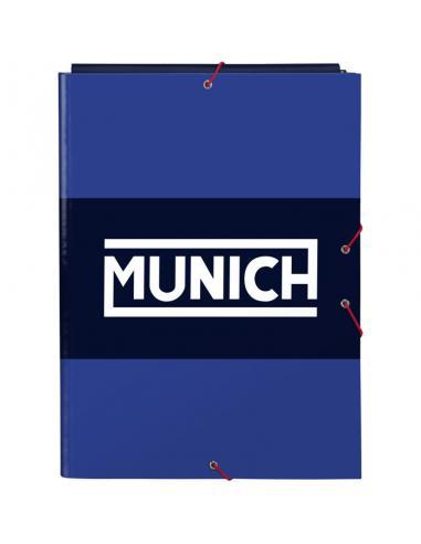 Carpeta folio gomas 3 solapas de Munich 'Retro' - Imagen 1