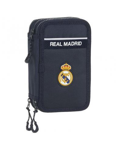 Plumier triple 36 piezas de Real Madrid - Imagen 1