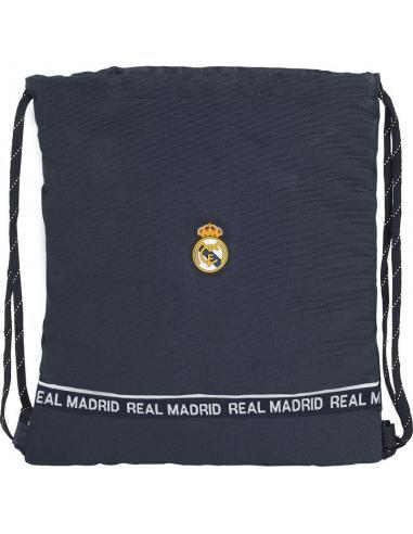 Bolsa cordones saco plano de Real Madrid - Imagen 1