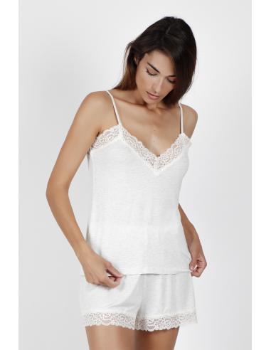 ADMAS CLASSIC Pijama Tirantes Lace Night para Mujer - Imagen 1