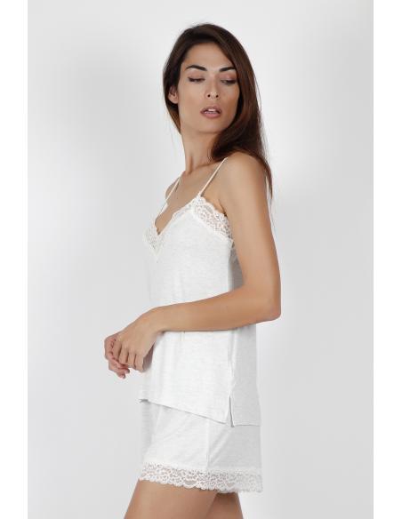 ADMAS CLASSIC Pijama Tirantes Lace Night para Mujer - Imagen 2