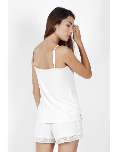 ADMAS CLASSIC Pijama Tirantes Lace Night para Mujer - Imagen 3
