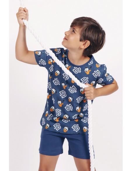 Pijama manga corta Disney Pato Donald