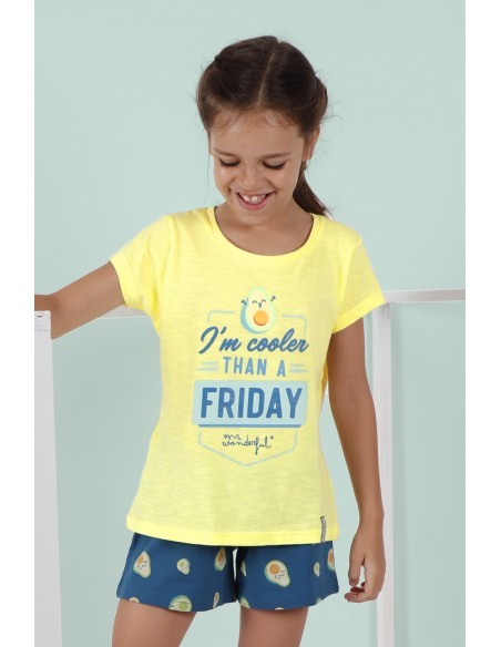 pijama-mr-wonderful-infantil-aguacate