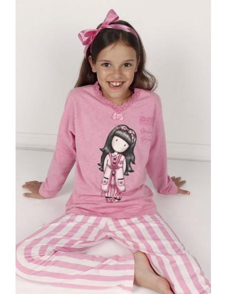 pijama gorjuss goodnight para niña