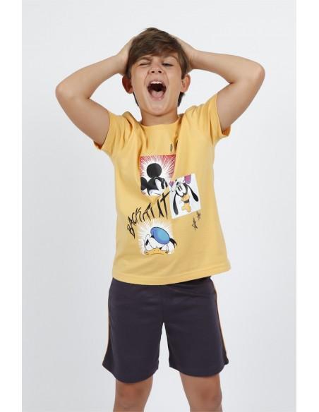 pijama manga corta disney para niño