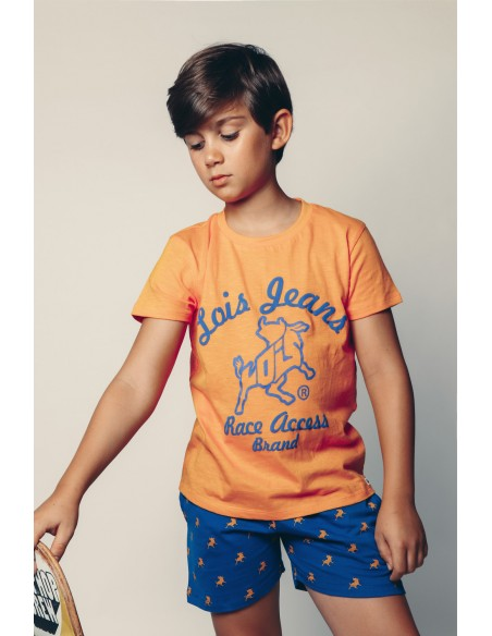 pijama lois manga corta infantil