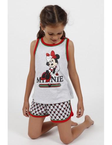 pijama tirantes disney minnie mouse para niña