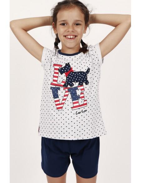 pijama manga corta lou lou infantil de admas